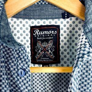 NWOT BOYS Rumors Original dress casual shirt